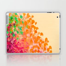 CREATION IN COLOR Autumn Infusion - Colorful Abstract Acrylic Painting Fall Splash Ombre Ocean Waves Laptop & iPad Skin