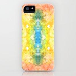 Watercolour Mosaic iPhone Case