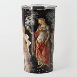 La Primavera - Allegory Of Spring - Sandro Botticelli Travel Mug
