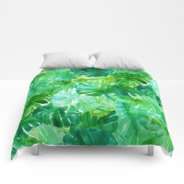 Welcome to the Jungle Palm Comforters
