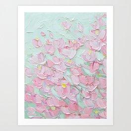 February Blossoms Art Print