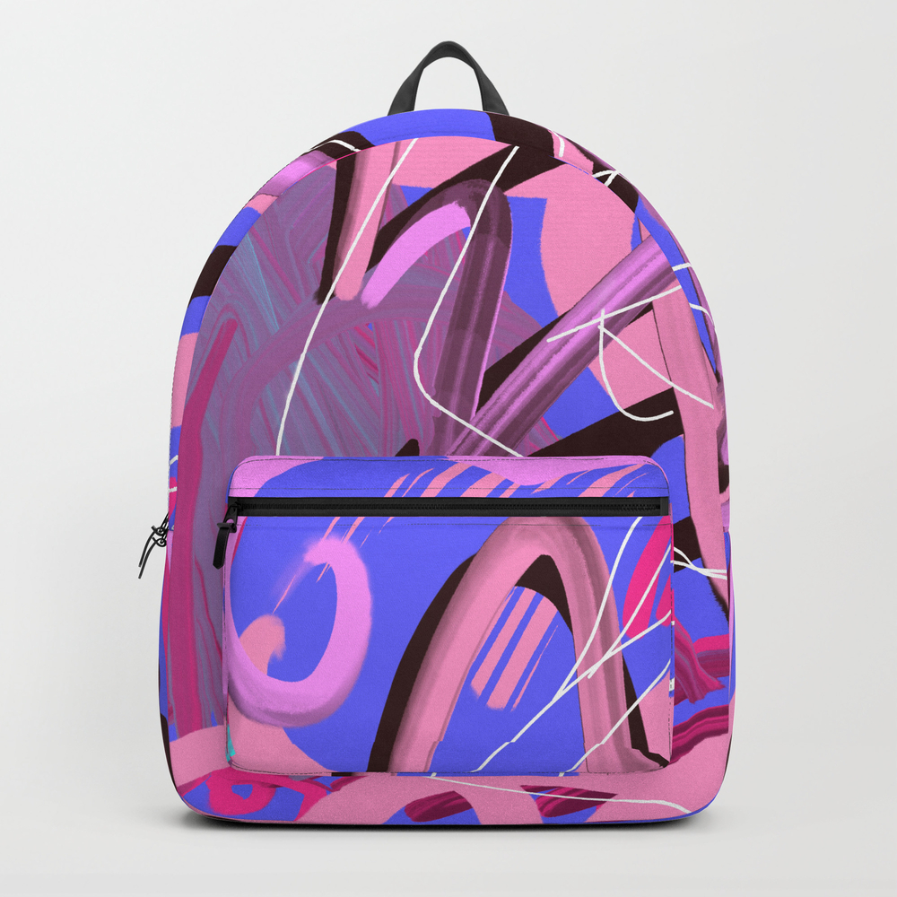 When Your Body Is Open For Sensuality Backpack by Lasha-beraia BKP9107007