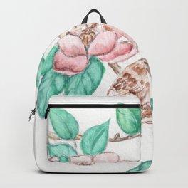 Bird Blossoms Backpack