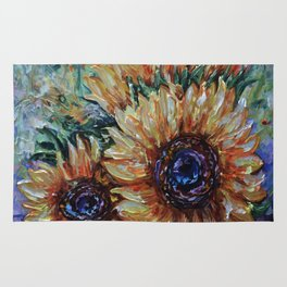 Ah, Sunflower by Lena Owens Rug
