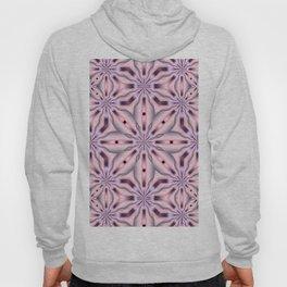 Soft Pink and Purple Kaleidoscope Star design Hoody