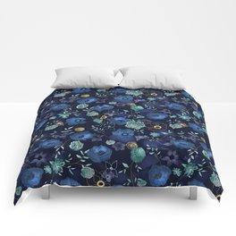 Cindy large floral print Comforters