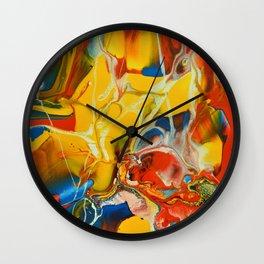 Color Explosion 1 Wall Clock