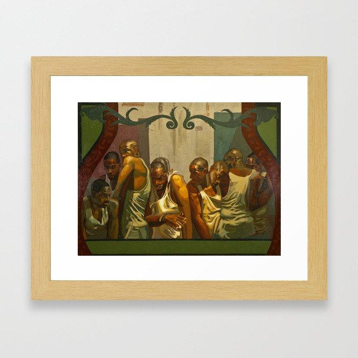 Obwa Coocoo Framed Art Print