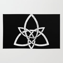 Rustic Celtic Knot - Inverted Rug