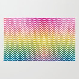 abstract lines vintage pattern Rug