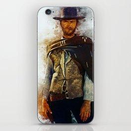 Clint Eastwood Tribute iPhone Skin