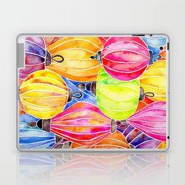 Vietnamese Rainbow Lanterns Laptop & iPad Skin