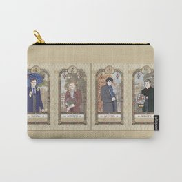 Sherlock Victorian Language of Flowers Four Seasons Carry-All Pouch