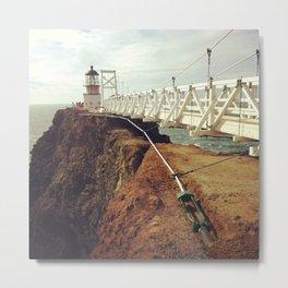 Point Bonita Light House Metal Print