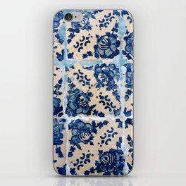 Portuguese Azulejo tiles iPhone Skin