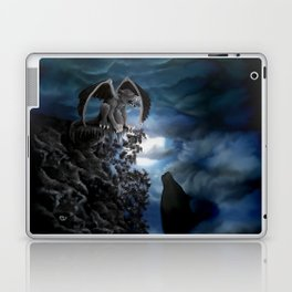 Wolfmoon , Wolf with Golem Laptop & iPad Skin