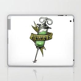 Injecting Humor Tattoo Laptop & iPad Skin