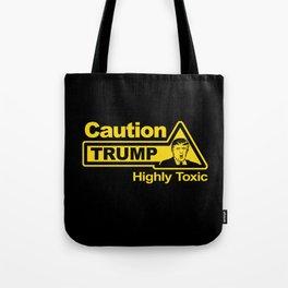 Caution - Trump Tote Bag