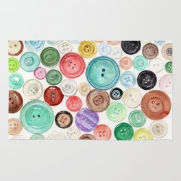 Buttons! Rug