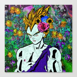Super Sperrody Vegeta Canvas Print