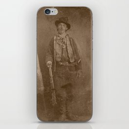 Billy The Kid iPhone Skin