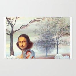 Mona Lisa and Friends Rug
