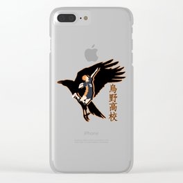 hinata shouyou Clear iPhone Case