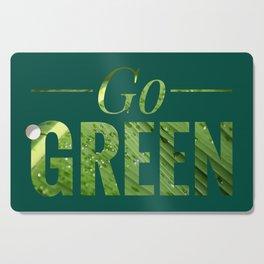 Go Green! Logo Cutting Board