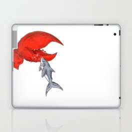 Great White Lobstah Lovah Laptop & iPad Skin