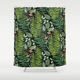 Pacific Northwest Plants Shower Curtain