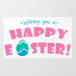 Wishing You a Happy Easter - Happy Easter Wishes Rug