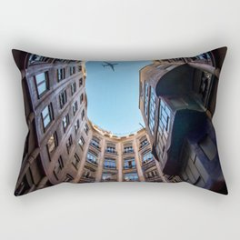 Casa Mila Barcelona Rectangular Pillow