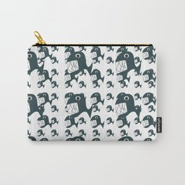 Tenacious Fish Pattern Carry-All Pouch
