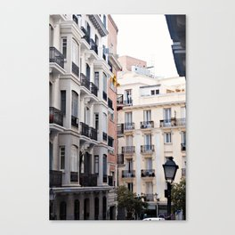 Madrid // Malasaña Canvas Print