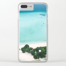 Robinson Crusoe style Clear iPhone Case