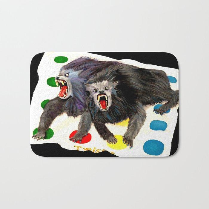 Werewolves with a Twist Bath Mat