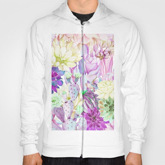 Lilac garden Hoody