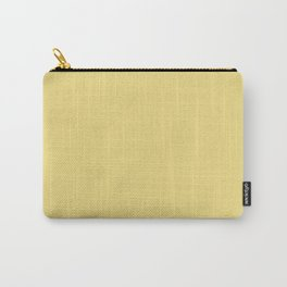Dusty Yellow Carry-All Pouch