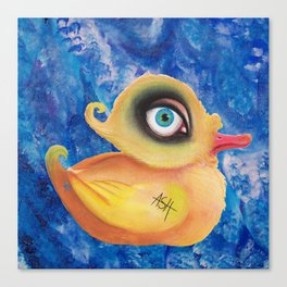 duck amused Canvas Print