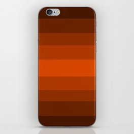 Sienna Spiced Orange - Color Therapy iPhone Skin