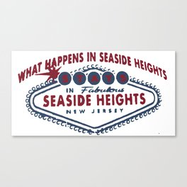 Seaside Heights - New Jersey. Canvas Print