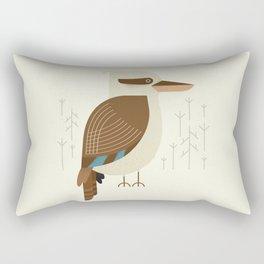 Laughing Kookaburra, Bird of Australia Rectangular Pillow