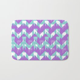 Tooth Fairy #3 - Chevron Teeth Bath Mat