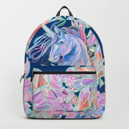 Crystal Snake Rainbow Unicorn Backpack