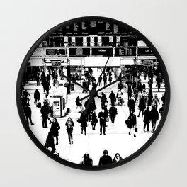 Commuter Art London Wall Clock