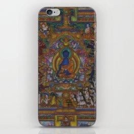 The Medicine Buddha iPhone Skin