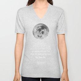 Moon Bridge Shakespeare Unisex V-Neck