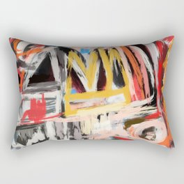The king was there Rectangular Pillow