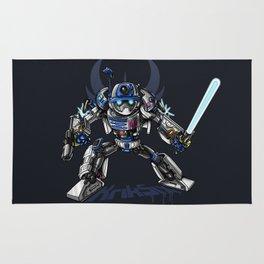 R2-D2 Transformed - The Dark Side Rug