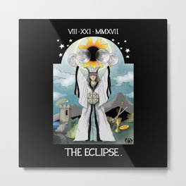 The Eclipse Metal Print